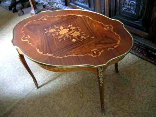 Table basse xviii - Table basse louis xiv ...